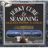 Hi Mountain Jerky Cracked Pepper 'n Garlic Jerky Blend, 7.2-Ounce Boxes