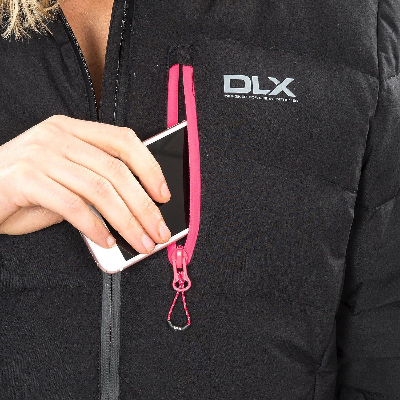 Trespass Zuri DLX Womens Down Padded Jacket Hooded Winter Warm Puffer Coat