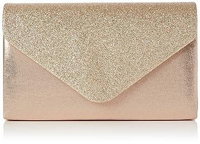 5f586d80900bc Swankyswans Damen Kelly Glitter Envelope Clutch Party Prom Bag Tasche