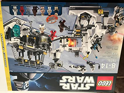 LEGO LUKE SKYWALKER BACTA TANK minifigure STAR WARS set 7879 rare