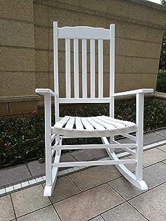 Rocking Rocker   A001WT White Porch Rocker / Rocking Chair   Easy To  Assemble   Comfortable