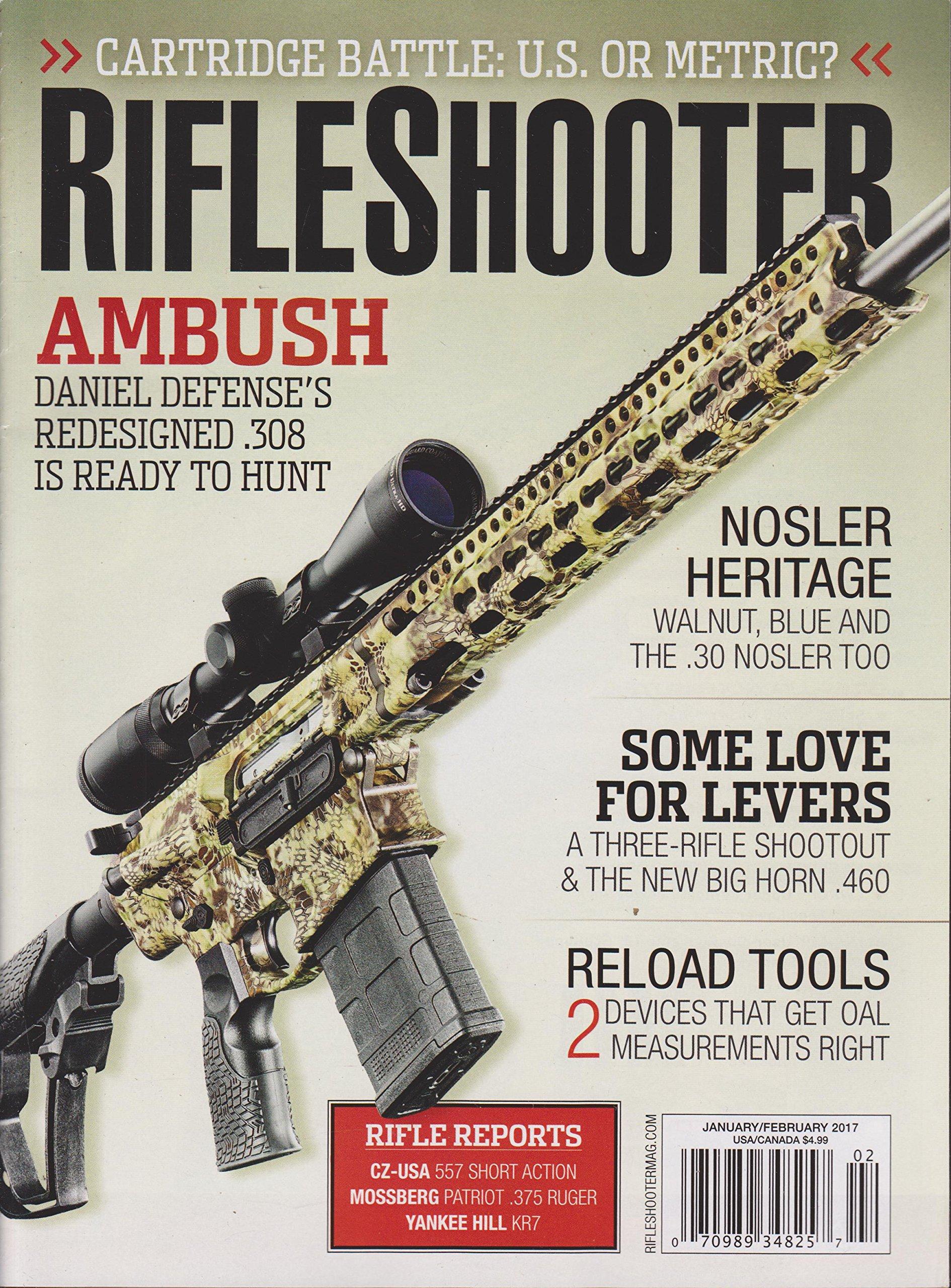 Rifle Shooter Magazine January/February 2017: Various: Amazon com: Books
