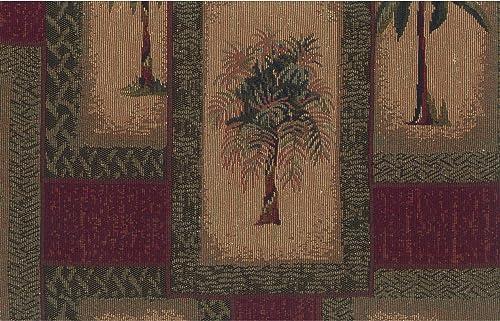 Blazing Needles Patterned Tapestry Swivel Rocker Chair Cushion
