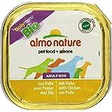 Almo Nature - Daily Menu BIO - Nourriture pour chien - Poulet - 9 x 300g