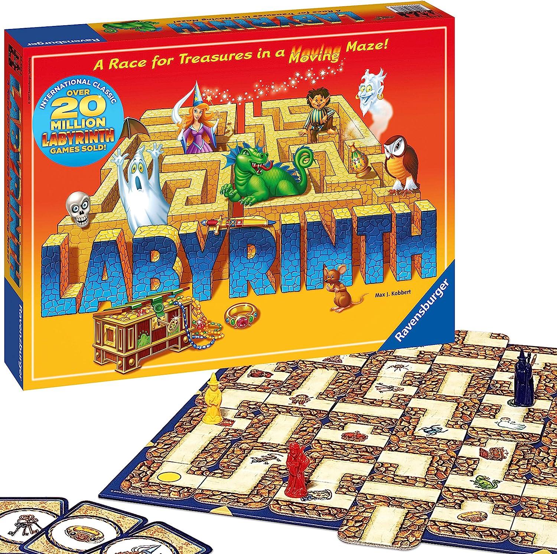 Ravensburger Labyrinthe - Juego de Mesa (en inglés) [Importado del Reino Unido]: Amazon.es: Juguetes y juegos