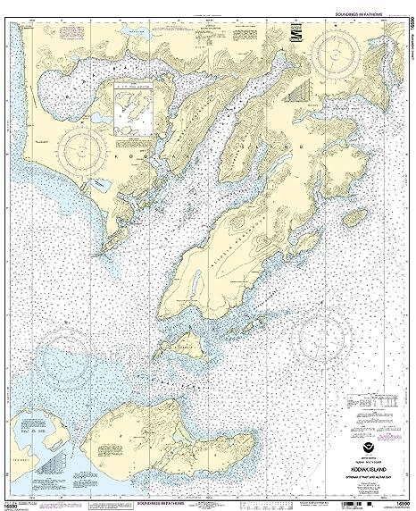 Amazon.com: 16590 -- Kodiak Isla – sitkinak estrecho y ...