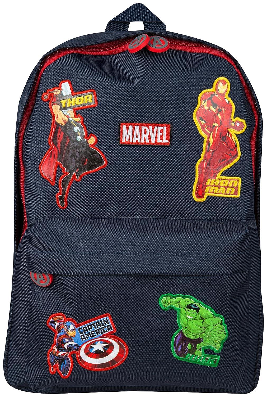 Marvel Avengers Official School Bag for Boys Girls Adults Travel Rucksack Kids Backpack Captain America Thor Iron Man Hulk