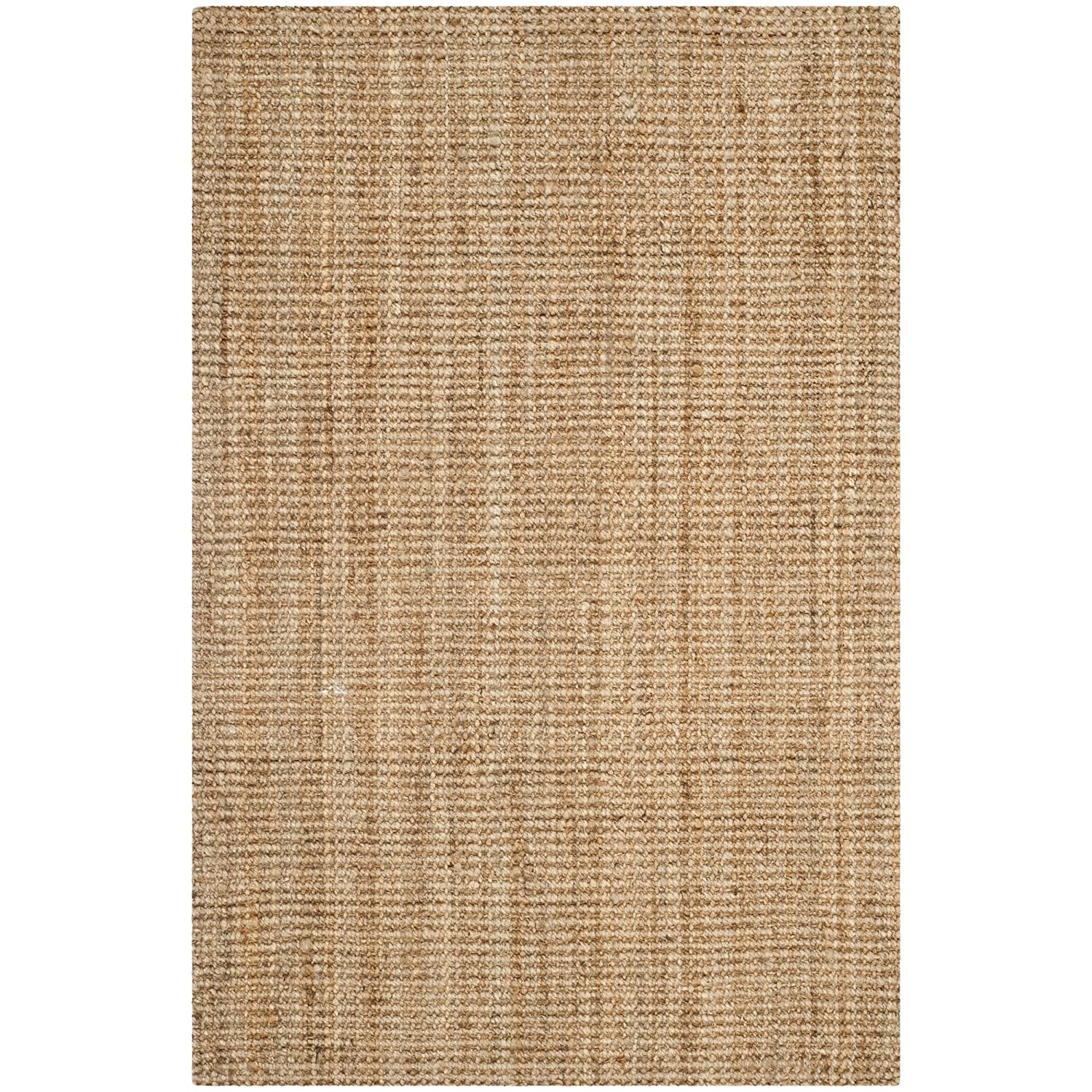 Safavieh Natural Fiber Collection NF747A Hand Woven Natural Jute Area Rug (2