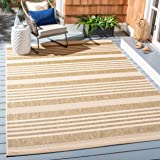 Safavieh Courtyard Collection CY6062-242 Brown and