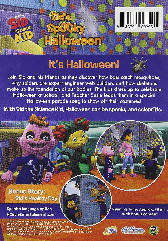 amazon com sid the science kid sid u0027s spooky halloween sid the