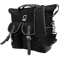 Lencca Mini Phlox Backpack + Tote + Shoulder Bag for up to 12.3 Inch Laptops and Tablets - Black
