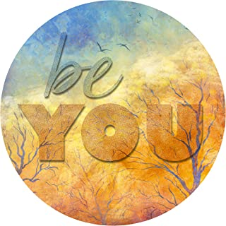 "product image for Next Innovations Motivational Wall Art Be You 16"" Round"