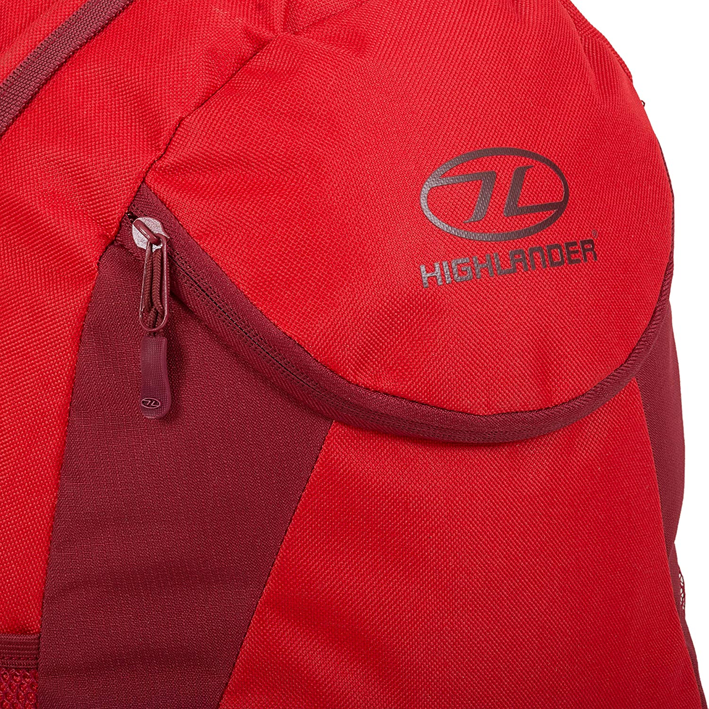 Highlander Dublin Daysack Bag 15l Black Rucksack Backpack Lightweight for sale online