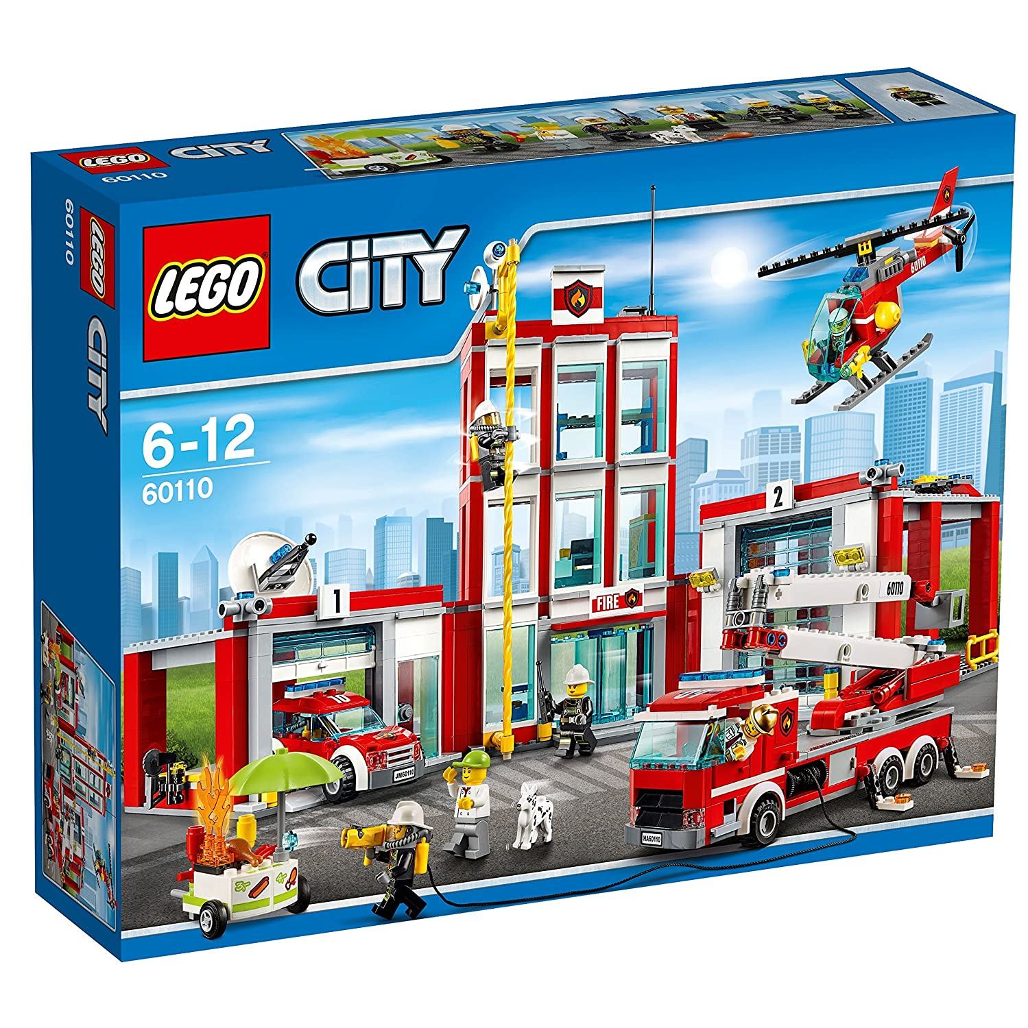 Top 9 Best LEGO Fire Station Sets Reviews in 2020 3