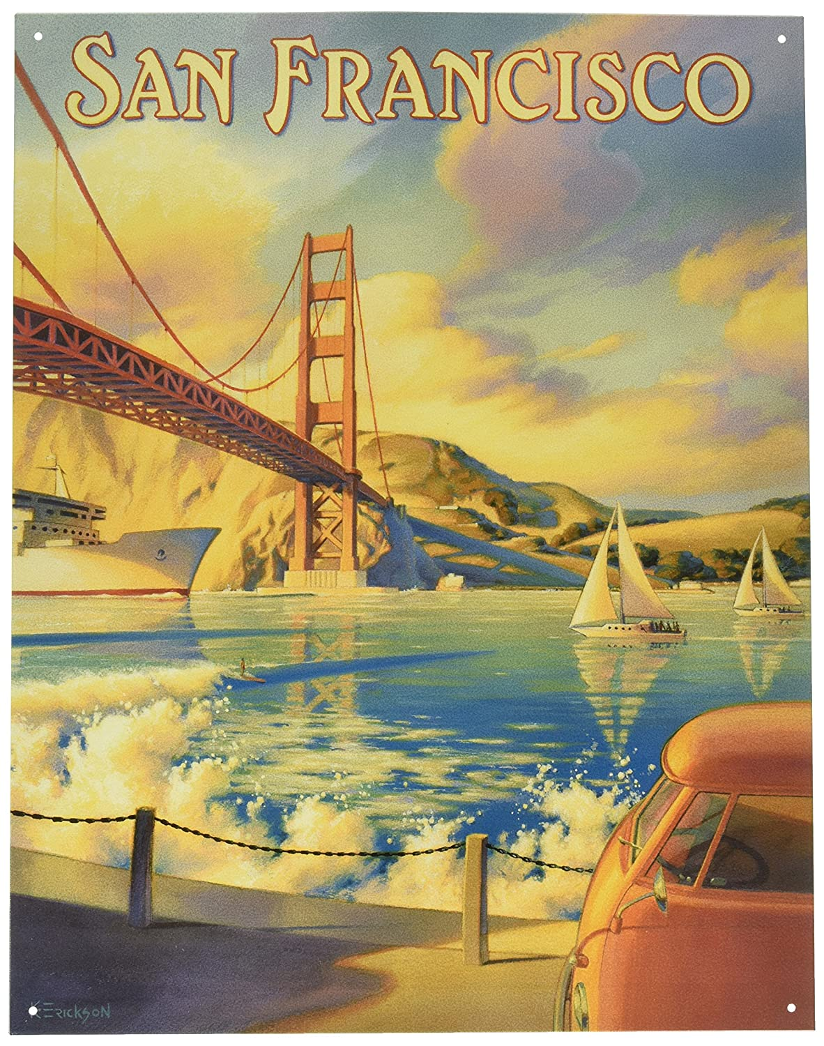 Amazon.com: Poster Discount Erickson - Golden Gate San Francisco ...