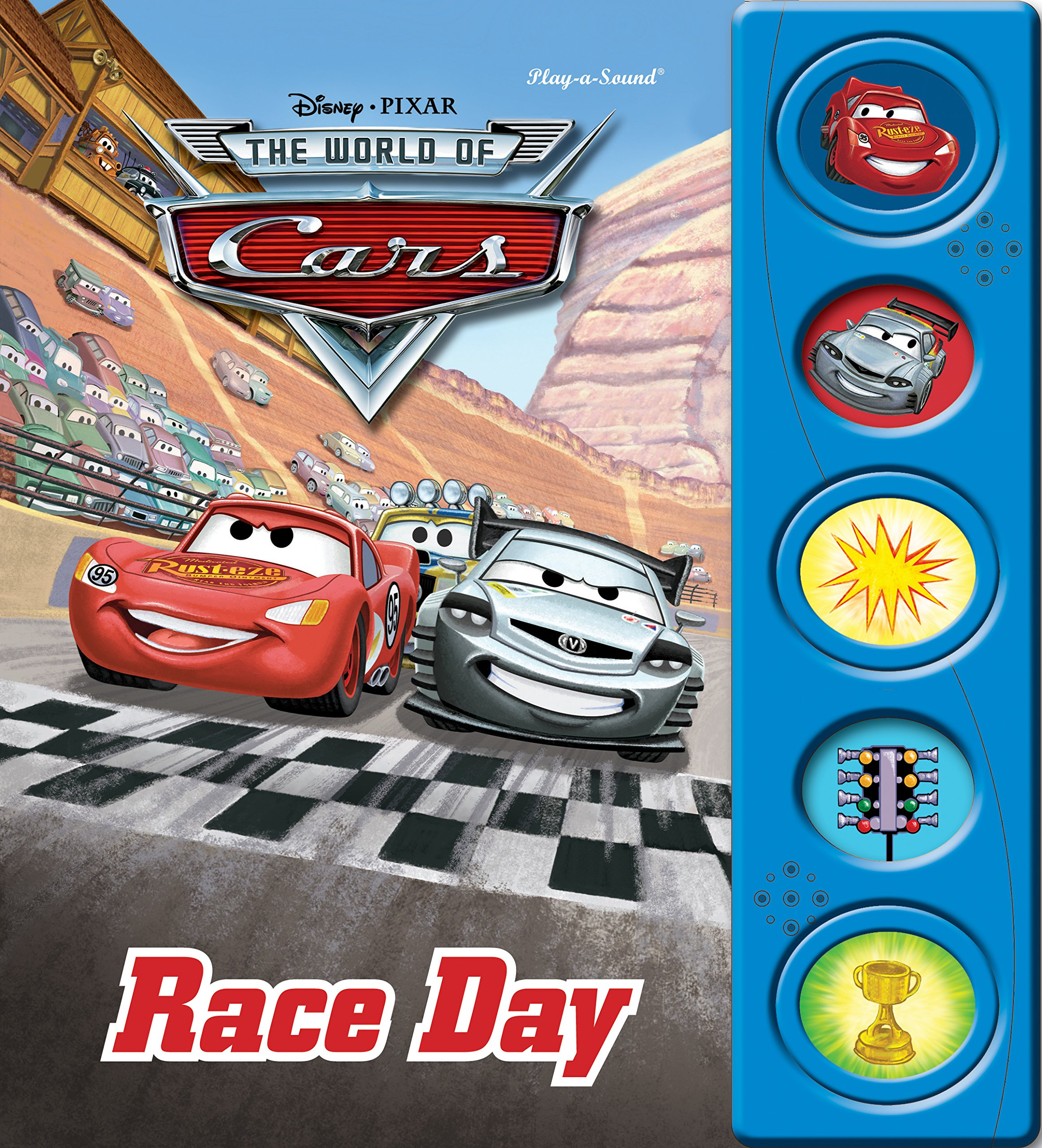 Cars: Race Day (Little Touch and Hear Book) ebook