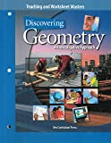 Teaching and Worksheet Masters (Discovering Geometry, An Investigative Approach)