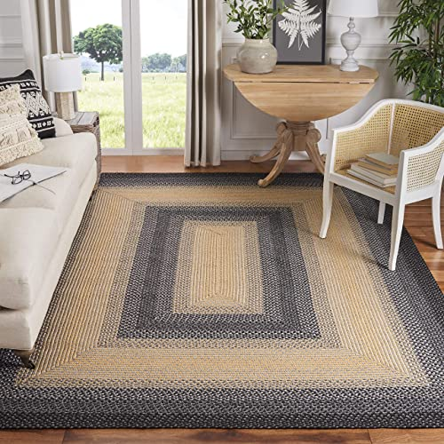 Safavieh Braided Collection BRD311A Hand-woven Reversible Area Rug