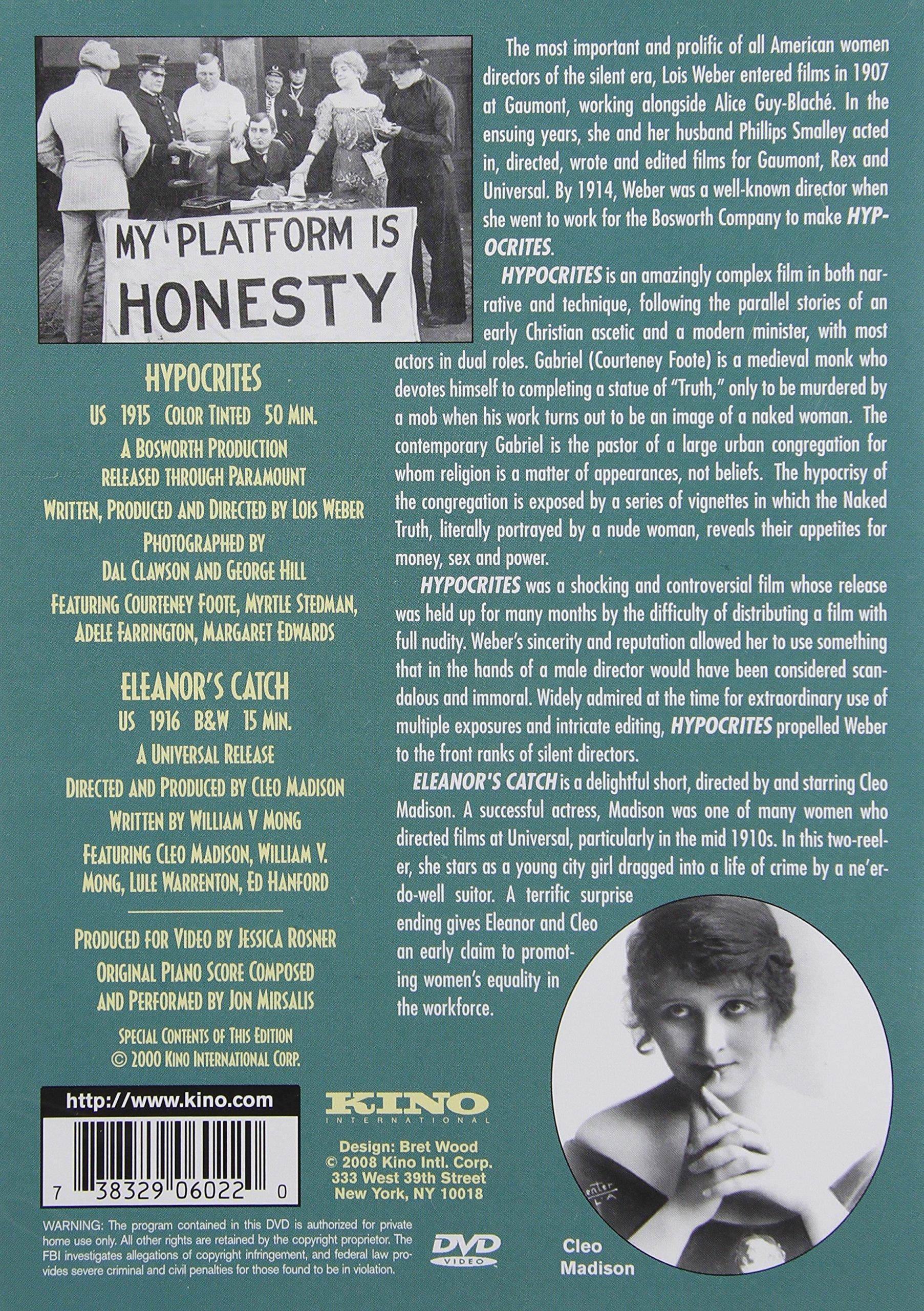 Hypocrites / Eleanor's Catch by Kino International