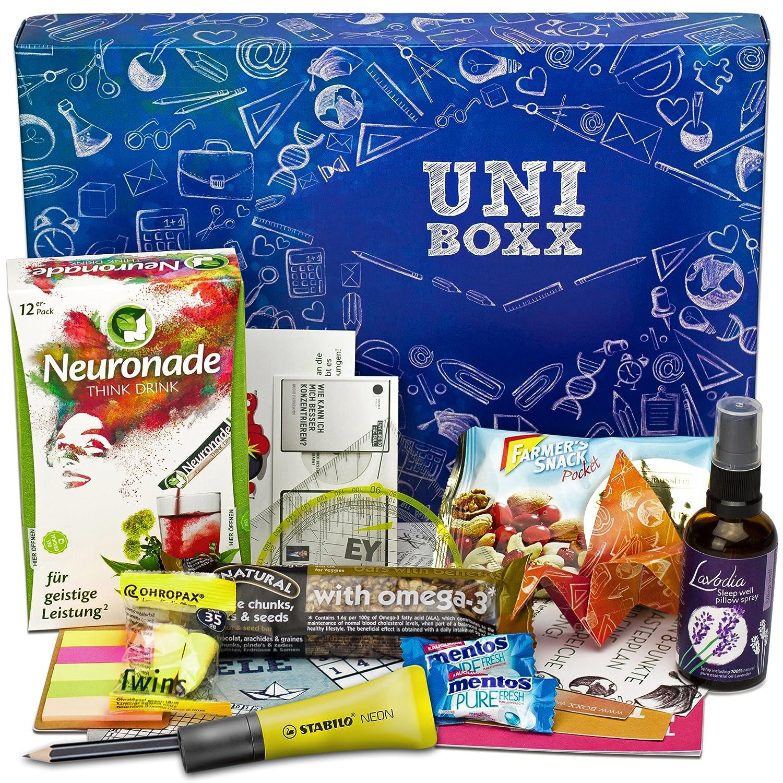 Uni-Boxx (13 Teile) Geschenk für Studenten zur Lernmotivation in ...