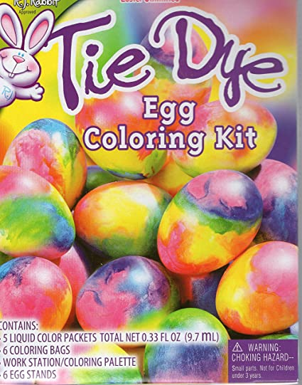 Amazon.com: Tie Dye Egg Coloring Kit: Toys & Games