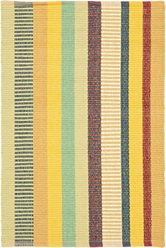 Safavieh PN109A-9 Penfield Collection PN109A Multicolored Premium Cotton 9 x 12 Area Rug,