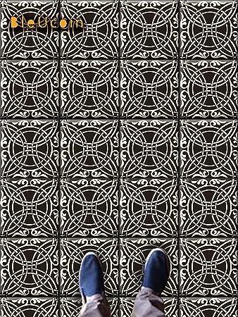 Fliesen Aufkleber In Encaustic Casablanca Stil Für Küche Und Bad Backsplash,  Abnehmbare Treppe Riser