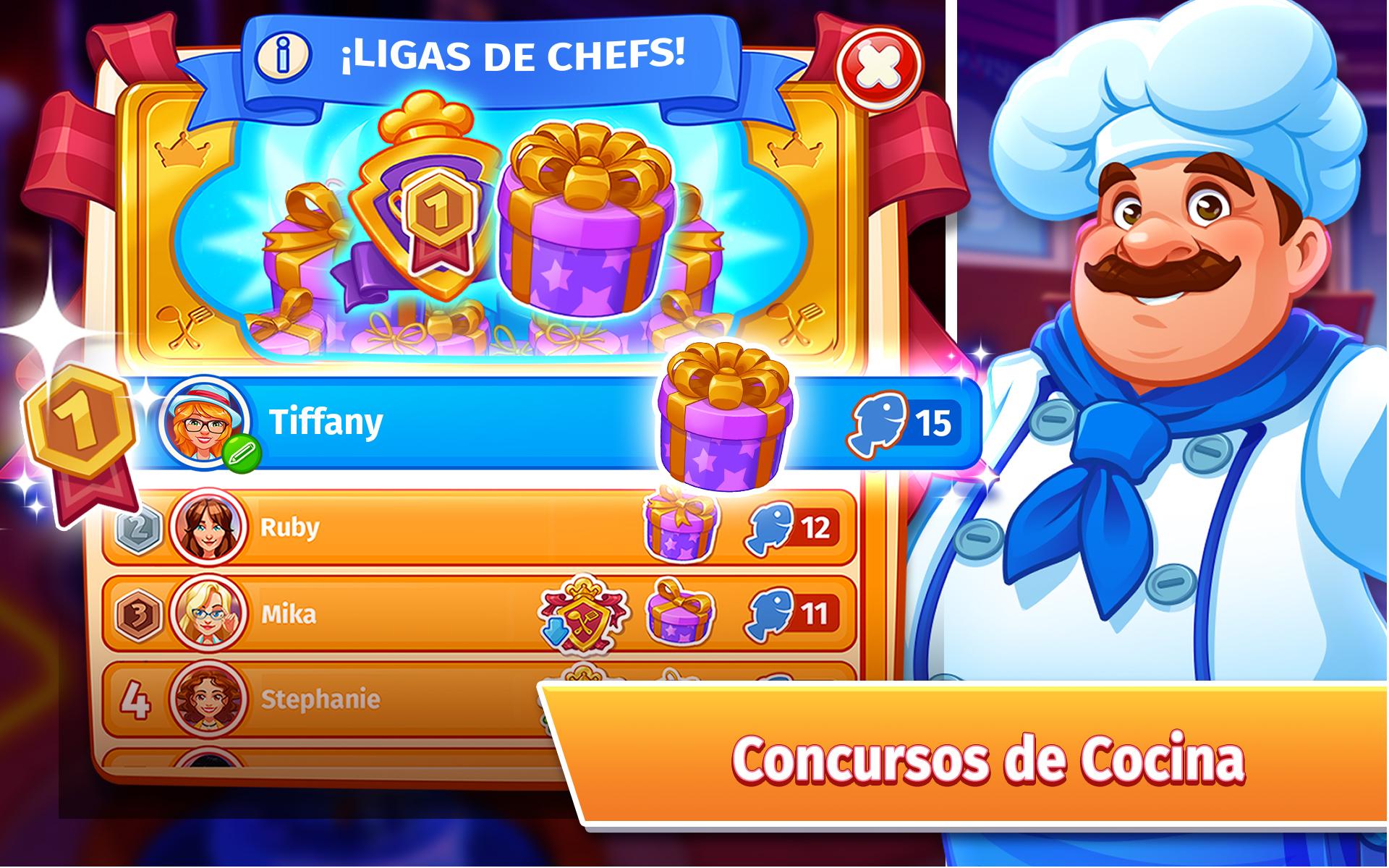 Cooking Craze– Un Juego de Restaurante Divertido: Amazon.es: Appstore para Android