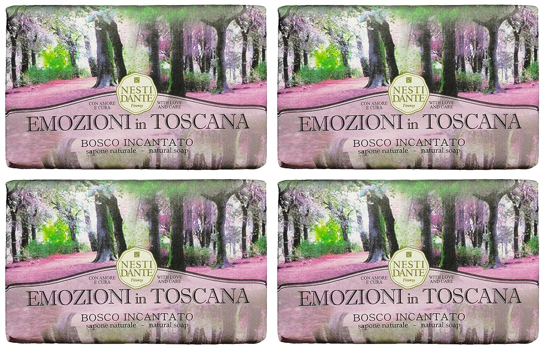 Saponeria Nesti Firenzebosco Incantato Re Amoreskin Forfifying Shampoo Oxygenating Natural Soap Emozioni In Toscana Line 53 Ounces 150g Packages Pack Of 4