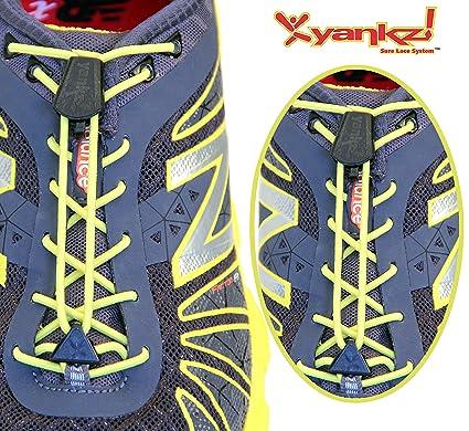 Amazon Com Yankz Surelace No Tie Elastic Shoelace System With 2