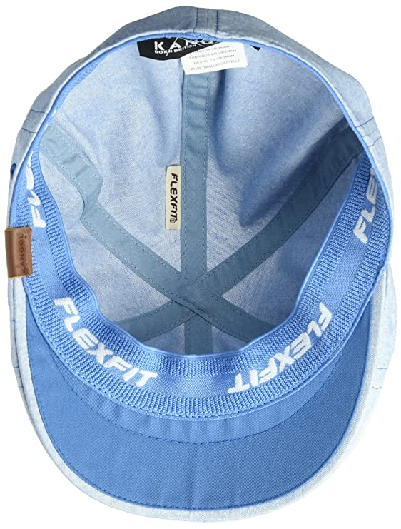14106cafca44e Kangol Men s Pattern Flexfit 504 Ivy Cap at Amazon Men s Clothing store