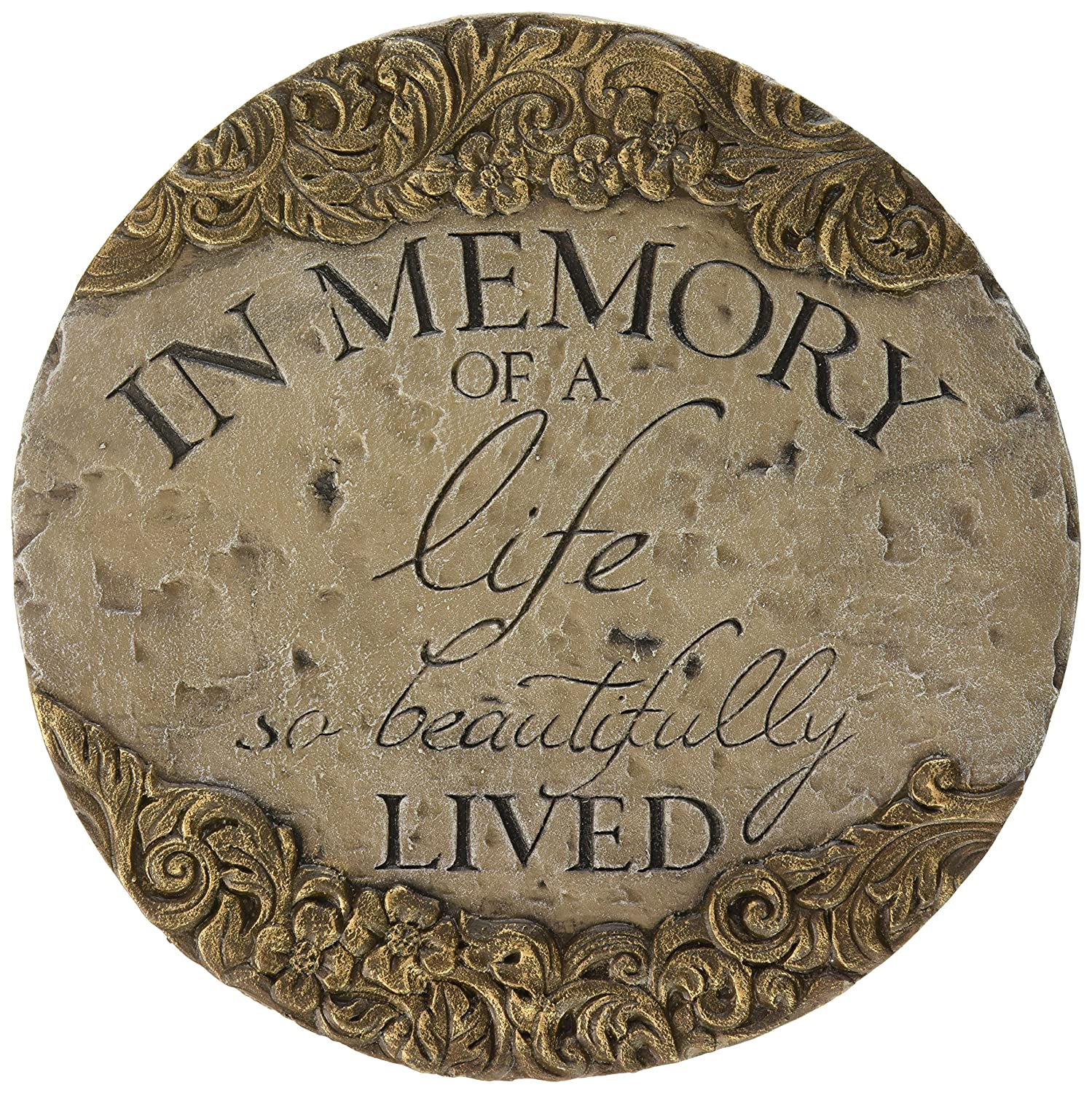 Carson Home Accents in Memory Decor Stepping Stone