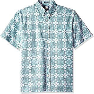 Reyn Spooner Men s Boston Red Sox MLB Tailored Fit Hawaiian Shirt ... d28a9c2cc