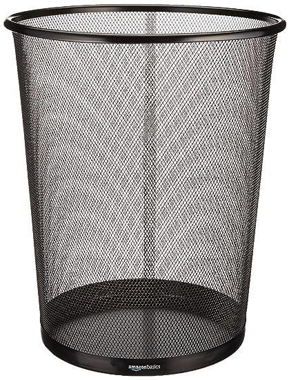 Image result for amazonbasics mesh wastebasket