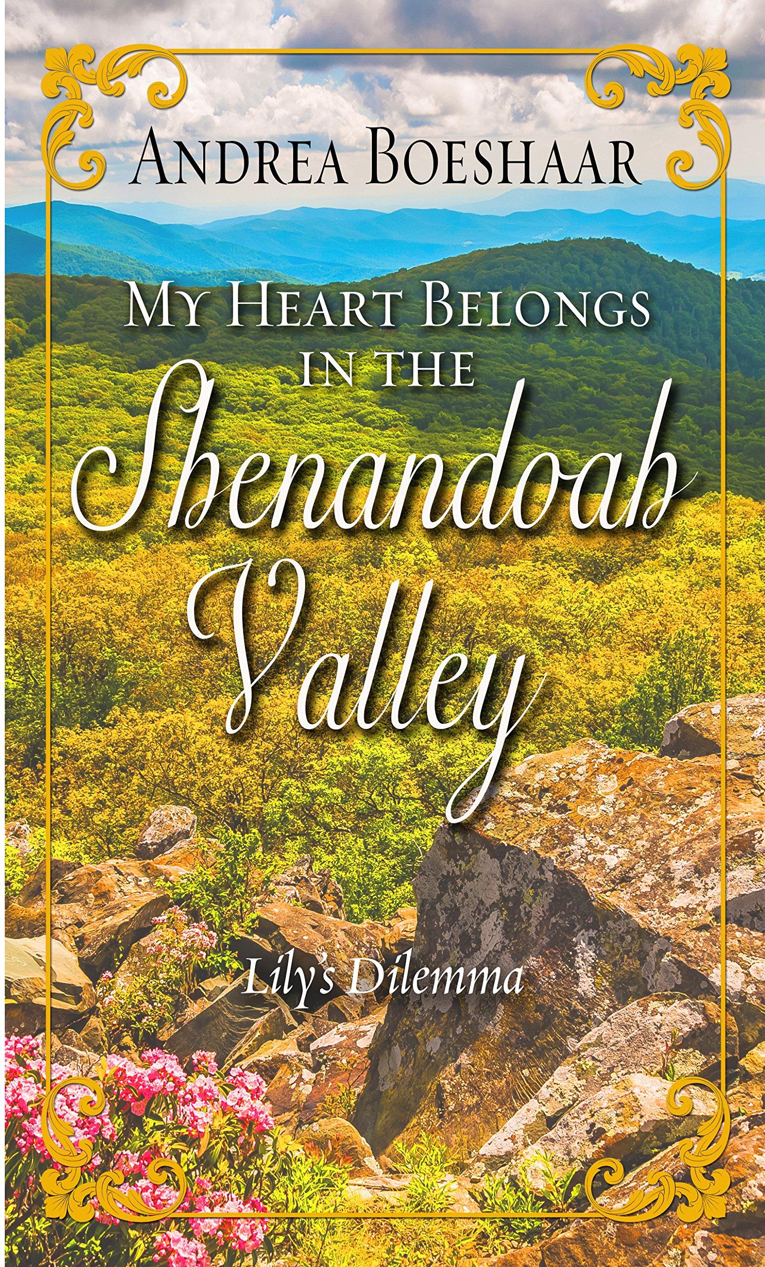 Download My Heart Belongs in the Shenandoah Valley: Lily's Dilemma (Thorndike Press Large Print Christian Romance) PDF