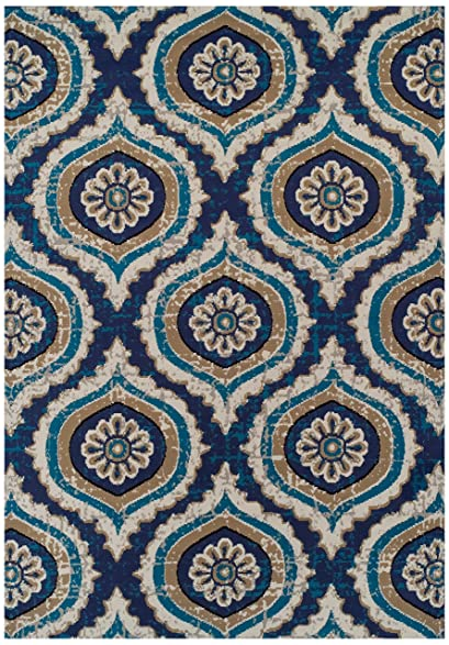 Large Rugs For Living Room 8x11 Turquoise Blue Beige Navy Gray Area 8x10 Clearance Under