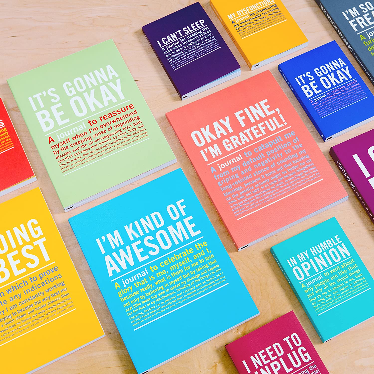 Amazon.com: Knock Knock Inner-Truth Journal, I'm Kind of Awesome, Small:  Office Products