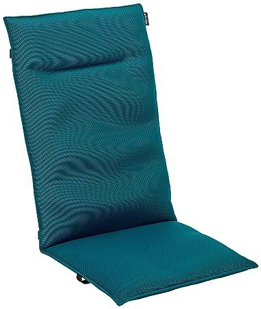 Lafuma Gepolsterte Air Comfort Auflage Für Hochlehner Coral Blue