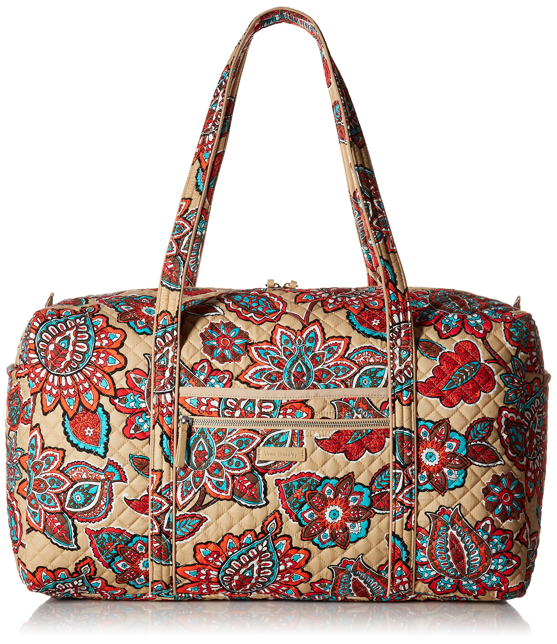 Vera Bradley Iconic Large Travel Duffel, Desert Floral, Desert Floral, One Size