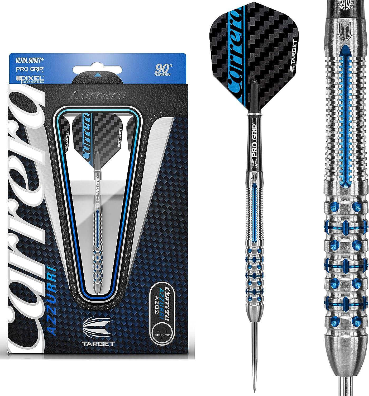 Target Dart Steel Dart Carrera Azzurri AZ01 24g 26g 3 Dartpfeile NEU
