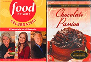 Food Network Celebrates Chocolate and Sweets DVD - 3 Disc Set Features Giada De Laurentis Sweet Endings; Desserts with Paula Deen; and Sweet Secrets Unwrapped with Marc Summers with Bonus Disc : Great Chefs Present Chocolate Passion : Total 4 Discs Combined - Chocolate Decadence Gift Set