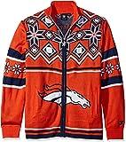 NFL Split Logo Ugly Sweater Jacket