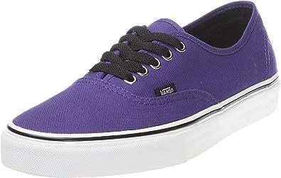Amazon.com   Vans Authentic Mens Size 10 Purple Canvas Sneakers ...