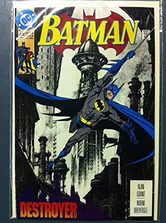 batman 474 the destoyer part 1 a tale of two cities feb 92 near