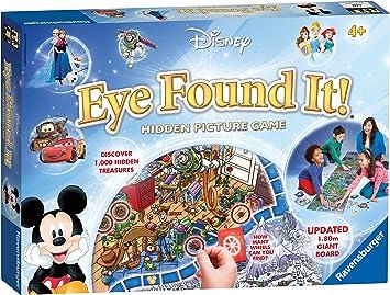 Ravensburger 21332 Disney Eye Found Kids Edad 4 años en adelante, búsqueda de la Imagen Oculta en Este Colorido Tablero de Juego de 6 pies: Amazon.es: Juguetes y juegos