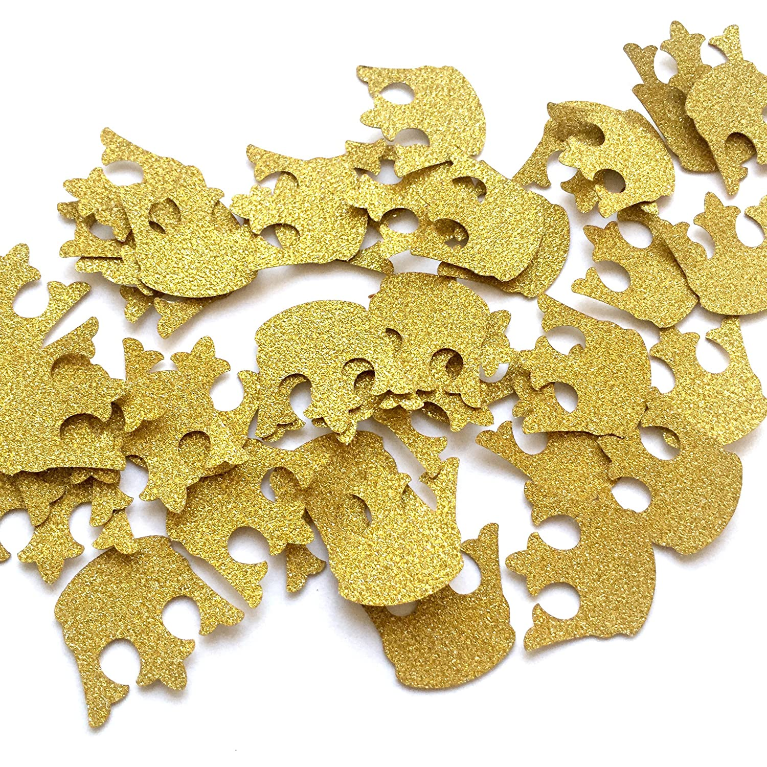 Amazon Glitter Gold Royal Prince King Crown Confetti 2