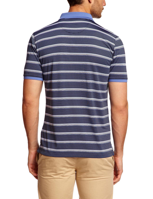 Calvin Klein Golf Hombres Camisas de Polo de la Raya Rendimiento ...