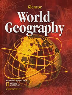 Worksheets Glencoe World Geography Worksheets glencoe world geography teacher wraparound edition mcgraw hill student edition