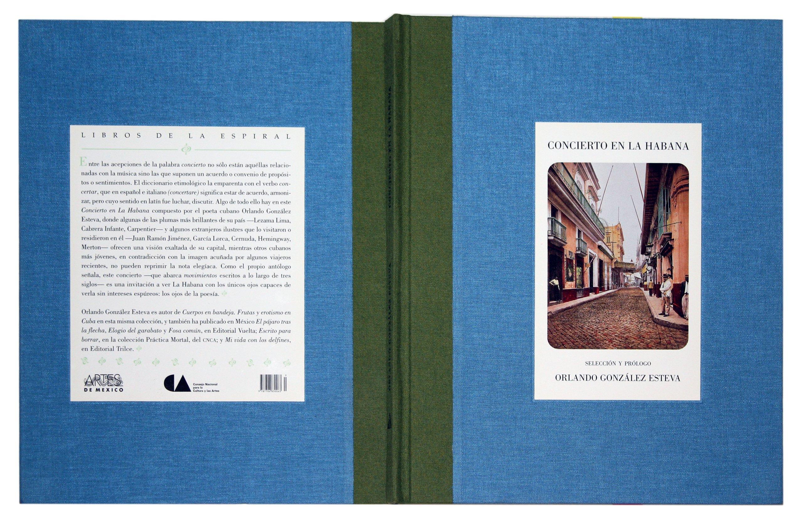 Concierto en La Habana (Concert in Havana) (Libros de la espiral) (Spanish Edition) (Spanish) Hardcover – January 1, 2000