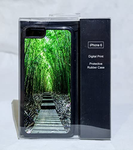 Amazoncom Iphone 6 Protective Case Cover W Maui Bamboo Forest